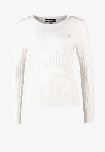 CABLE CREW - Neule - off white