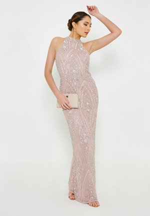 EMBELLISHED SEQUINS  MAXI - Occasion wear - frosted pink