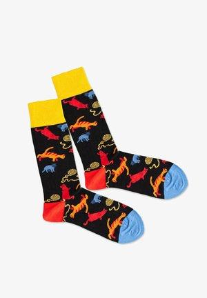 CRAZY CAT - Socks - multicolor