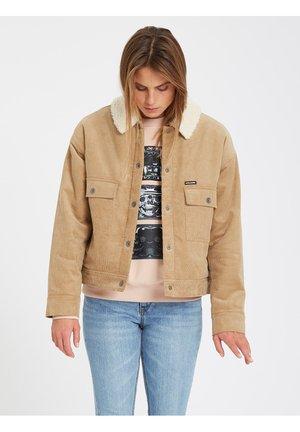 WEATON - Denim jacket - beige
