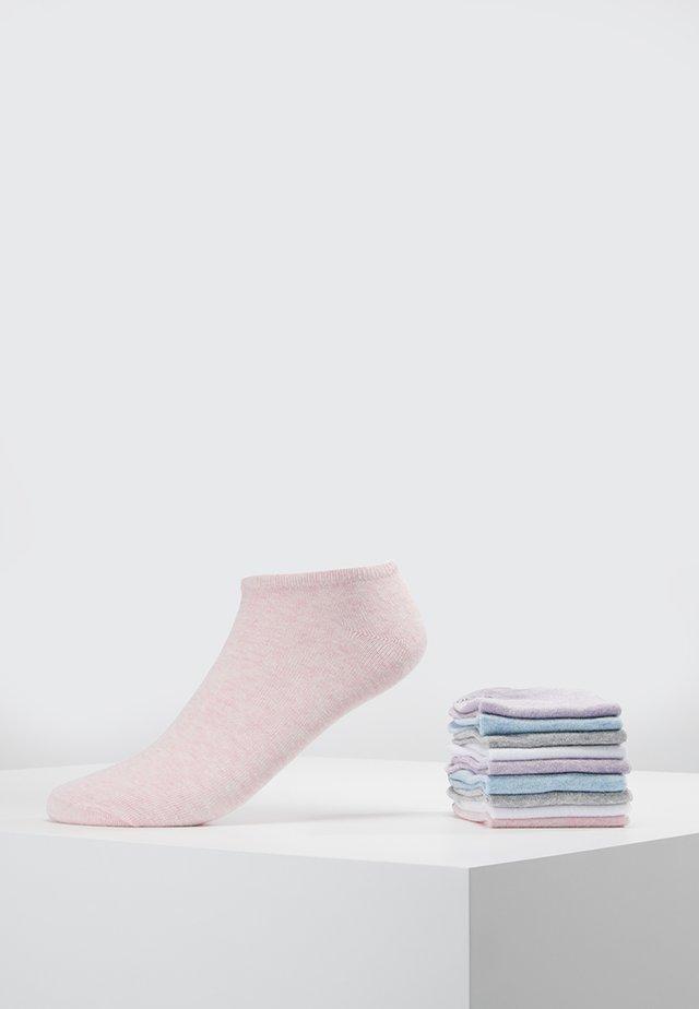 UNISEX 10 PACK - Socks - rose melange