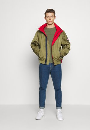 RETRO JACKET - Light jacket - uniform olive