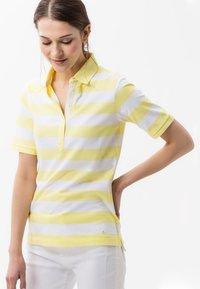 BRAX - STYLE CLEO - Polo shirt - yellow - 0