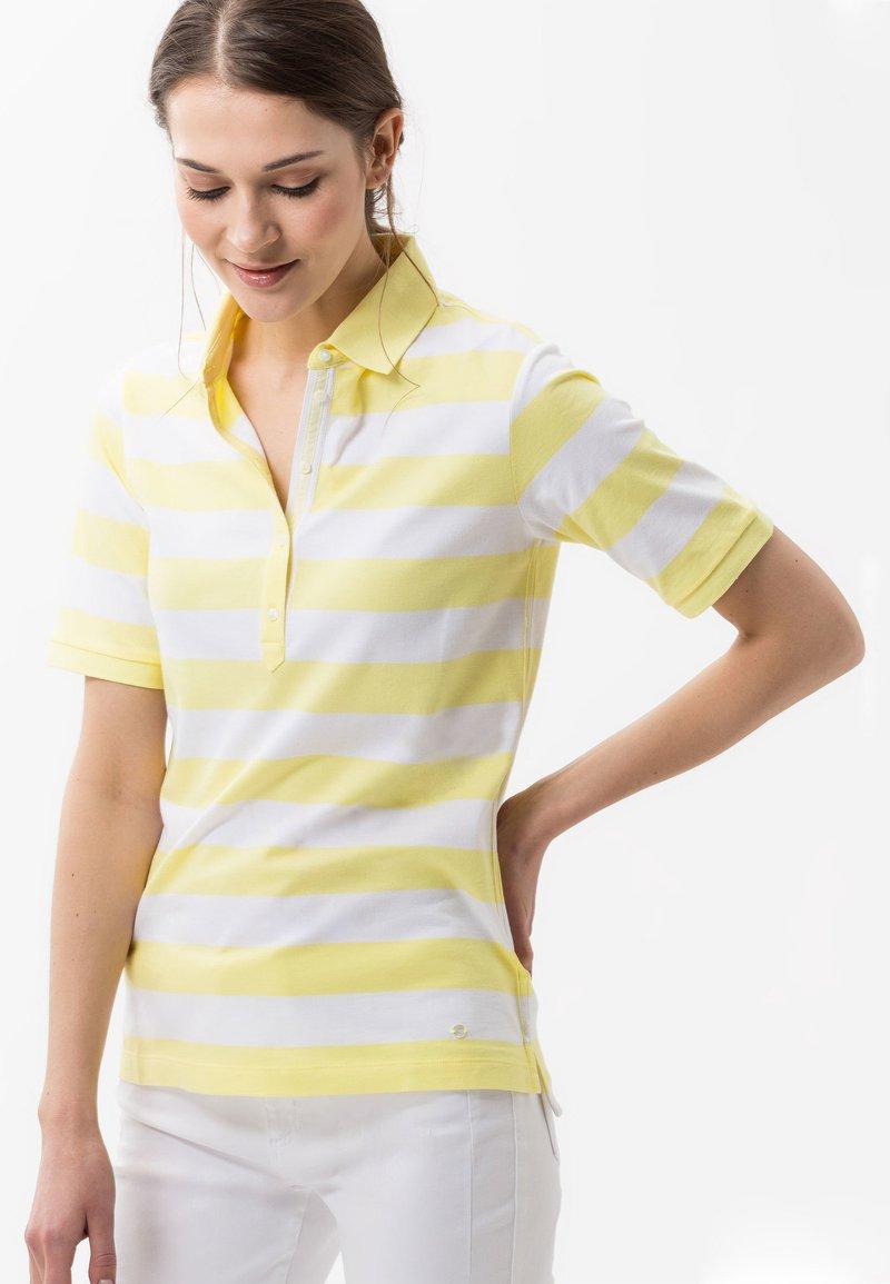 BRAX - STYLE CLEO - Polo shirt - yellow