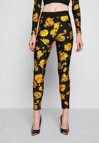 Versace Jeans Couture - Legíny - black - 0