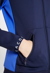 Lacoste Sport - TENNIS JACKET - Training jacket - navy blue/obscurity/white - 3