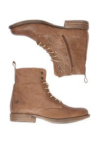 DreiMaster - Lace-up ankle boots - taupe - 2