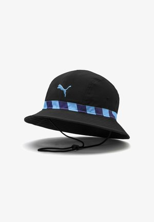 CITY CULTURE - Cappello - black team light blue
