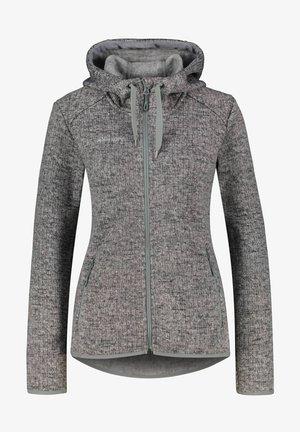 SHUKSAN ML HOODED JACKET - Fleece jacket - grau