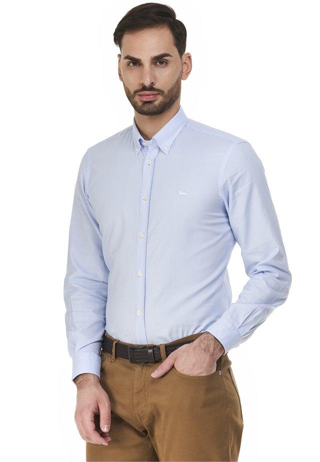 Zakelijk overhemd - celeste screziato
