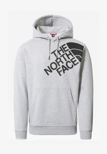 M SHOULDER BOX HD - Sweatshirt - tnflightgreyhthr/tnfblack