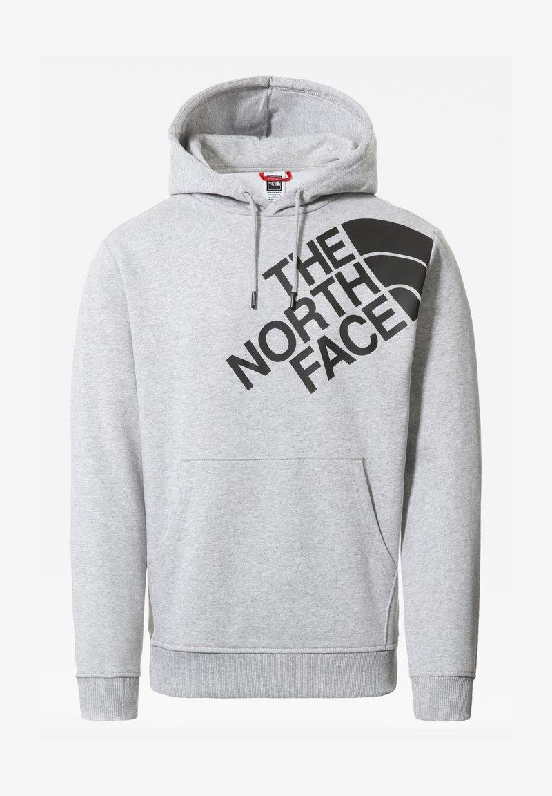 The North Face - M SHOULDER BOX HD - Sweatshirt - tnflightgreyhthr/tnfblack
