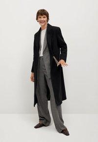 Mango - Classic coat - noir - 1
