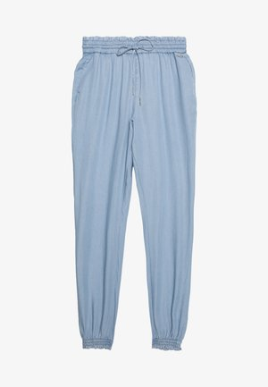 INDIGO HAREMS PANTS - Trousers - used light stone/blue denim