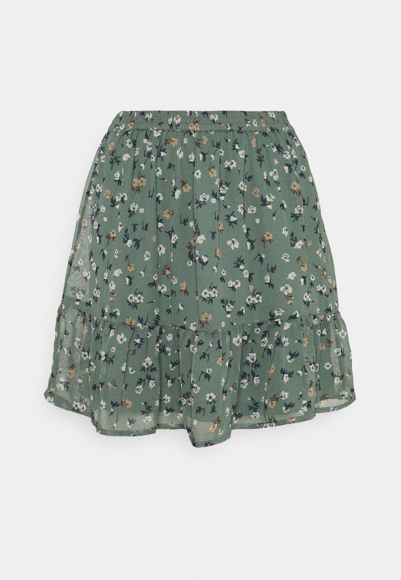 Vero Moda - VMYARA SHORT SKIRT  - Minijupe - green