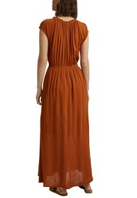 Esprit - Maxi dress - caramel - 5