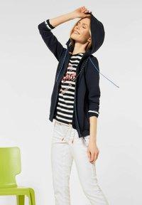 Cecil - Zip-up hoodie - blau - 2