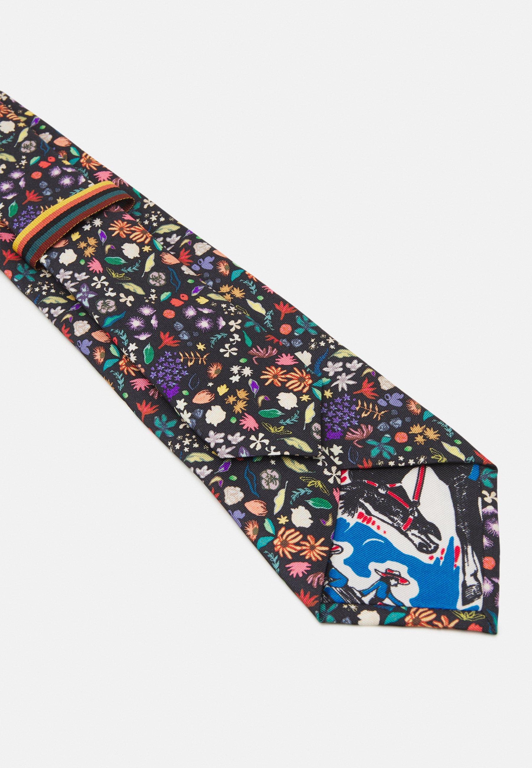 Uomo TIE PAINTED FLORAL - Cravatta