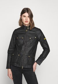 Barbour International - THUNDERBOLT CASUAL - Summer jacket - black - 0