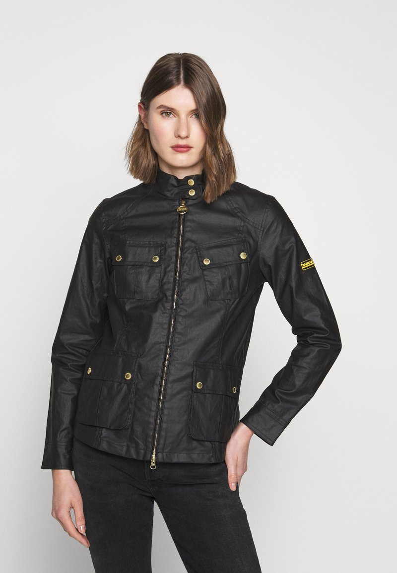 Barbour International - THUNDERBOLT CASUAL - Summer jacket - black