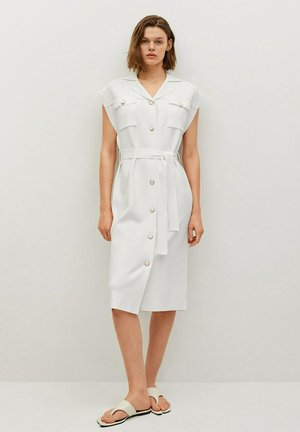JANE - Robe chemise - ecru