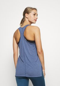 Nike Performance - YOGA LAYER TANK - Camiseta de deporte - diffused blue - 2