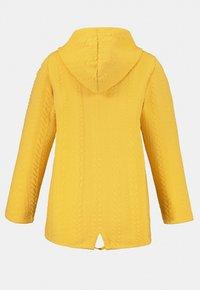 Ulla Popken - Zip-up sweatshirt - jaune moutarde clair - 2