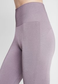 adidas Performance - Legginsy - purple - 4