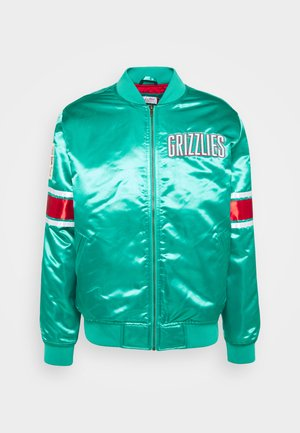 NBA VANCOUVER GRIZZLIES HEAVYWEIGHT JACKET - Squadra - teal
