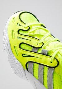 adidas Originals - EQT GAZELLE - Matalavartiset tennarit - solar yellow/silver metallic/core black - 8