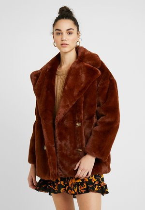ALLY - Zimní kabát - tobacco