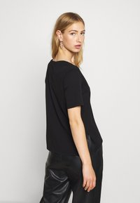 G-Star - CORE OVVELA - Print T-shirt - black - 2