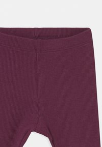 Name it - NBFROSEMARIE 3 PACK - Legging - shadow/italian plum/deauville - 3