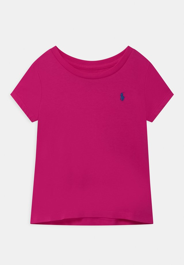 T-shirt basic - accent pink