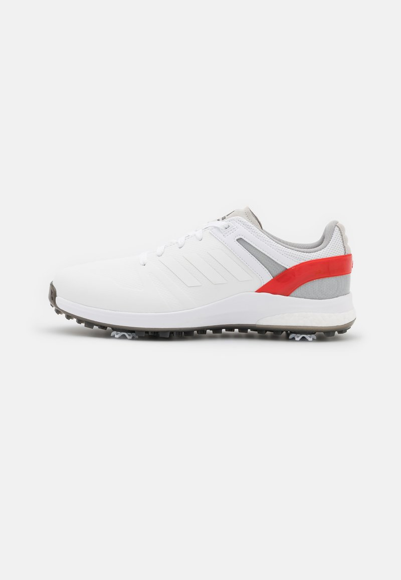 adidas Golf - EQT - Golf shoes - footwear white/vivid red