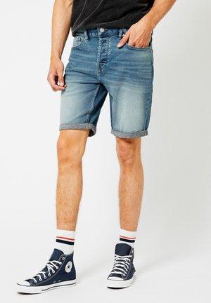 ROBERT - Denim shorts - light blue