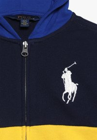 Polo Ralph Lauren - ATLANTIC TERRY HOOD - Kurtka sportowa - yellow fin - 4