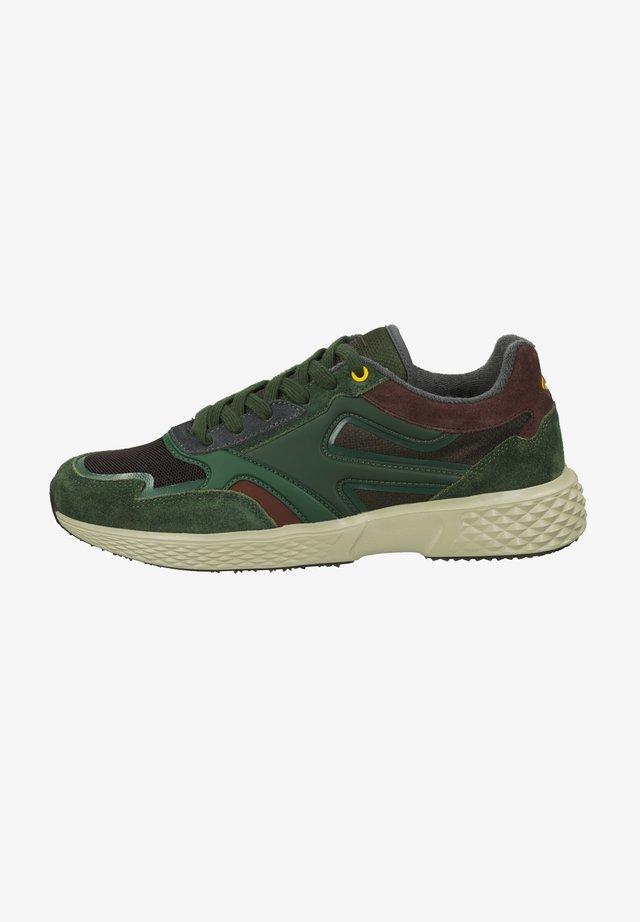 Sneakers laag - multi green