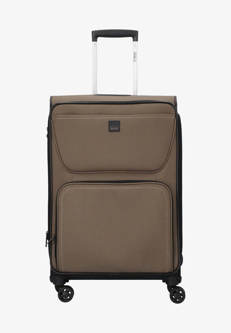 Stratic - BENDIGO - Wheeled suitcase - brown