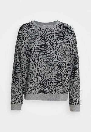 ET VOILA LOGO - Sweatshirt - grey marl