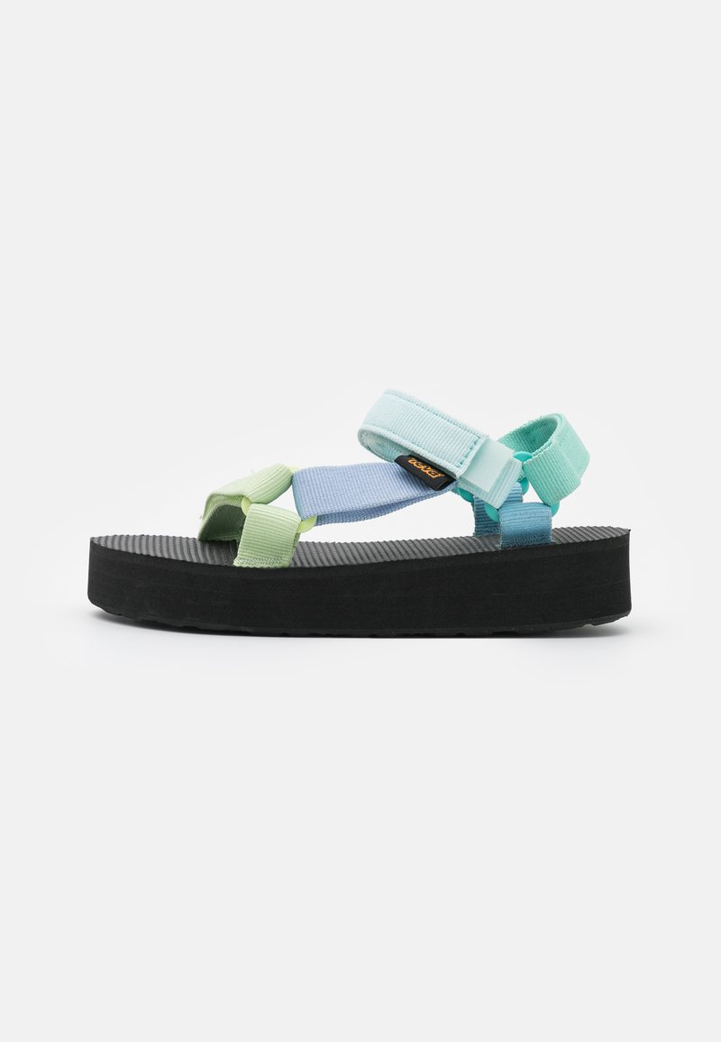 Teva - MIDFORM UNIVERSAL UNISEX - Chodecké sandály - light green/multicolor