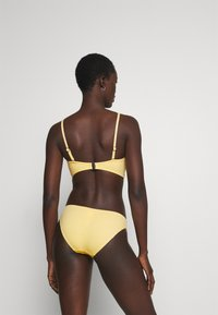 Seafolly - SPLASH DOT HIPSTER - Bikini bottoms - lemon butter - 2