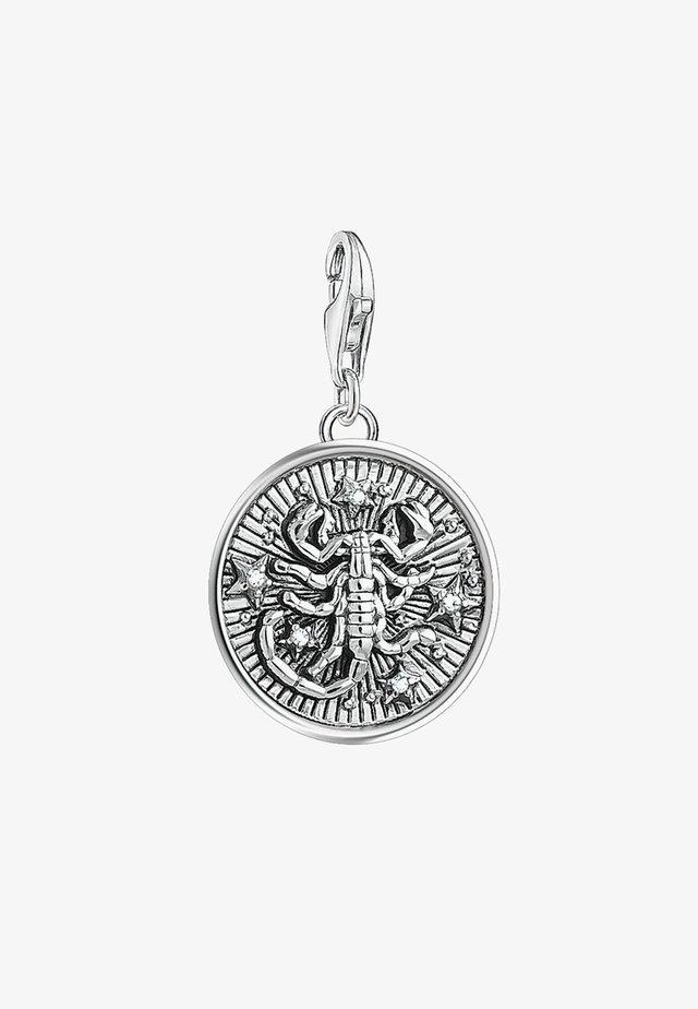 STERNZEICHEN SKORPION - Berlocker - silver-coloured