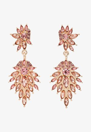 ONLCINDYLINDY EARRINGS - Boucles d'oreilles - gold-coloured/rose