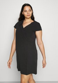 CAPSULE by Simply Be - TAILORED DRESS - Shift dress - black - 4