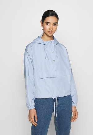 ONLCONNIE POCKET ANORAK - Cortaviento - cashmere blue