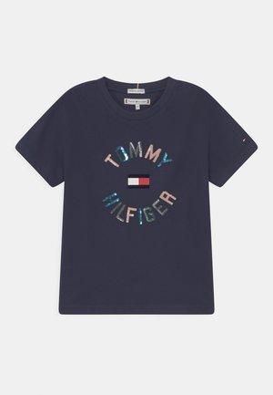 T-shirt con stampa - twilight navy