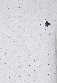 TOM TAILOR DENIM - CREWNECK WITH CUTLINES - Sweatshirt - grey - 2