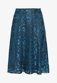 Sheego - A-line skirt - dunkelpetrol - 5