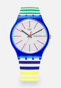 Swatch - HOME STRIPE HOME - Zegarek - multicolor - 0